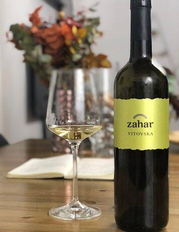 Vitovska 2018 Zahar etichetta